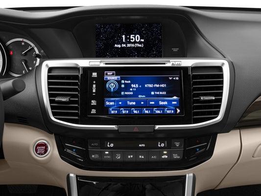Honda Accord Sensing >> 2017 Honda Accord Ex L W Navigation And Honda Sensing