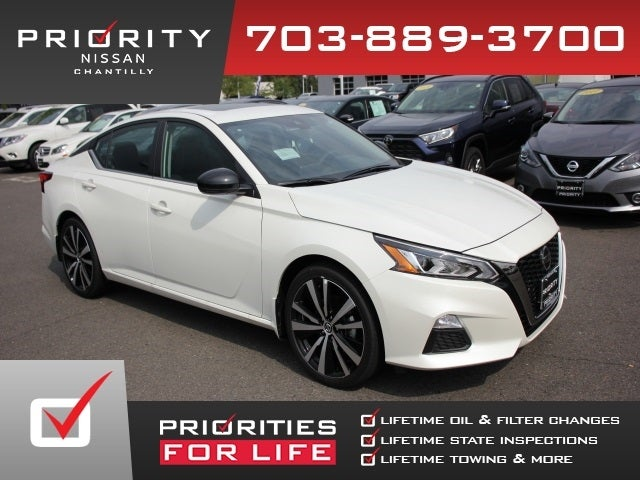 Priority Nissan Chantilly >> 2020 Nissan Altima 2 5 Sr